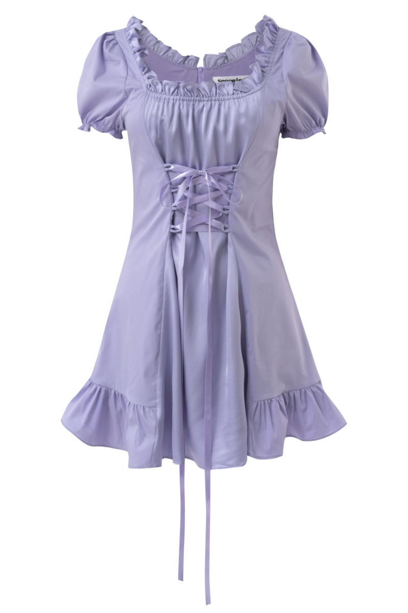 SPOONING ⌇ LAST DANCE DRESS (lavender)